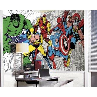 Marvel Classics Character Mural (6'x10.5')