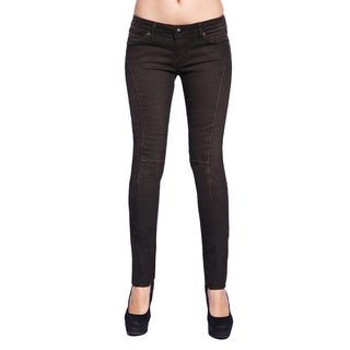 Stitch's Women's Low Rise Brown Denim Skinny Jeans