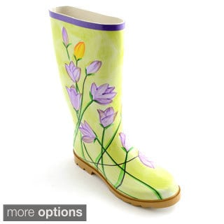 Corkys Women's 'Painted' Watercolor Print Rain Boots