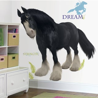 Brave Angus Peel and Stick Giant Wall Decal