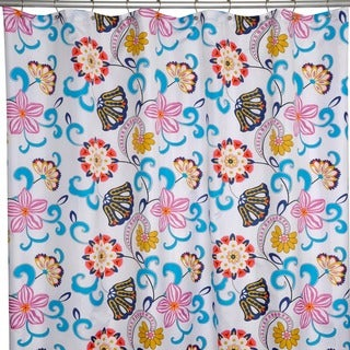 Bohemia Floral Shower Curtain