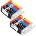 Sophia Global Compatible Ink Cartridge Replacement for PGI-255XXL and CLI-251XL (Pack of 10)