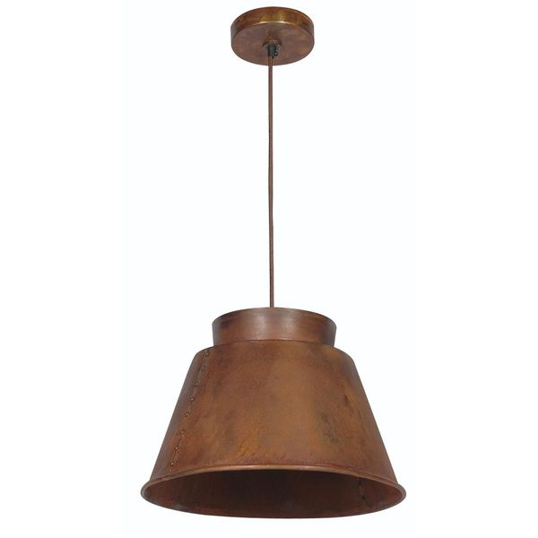 Brownfield Rust 1-light Pendant