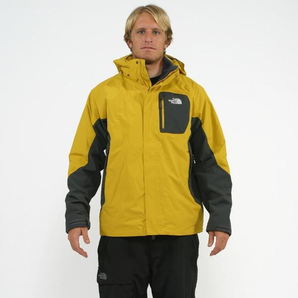 The North Face Men's 3-in-1 'Atlas' Grey/ Yellow Triclimate Jacket