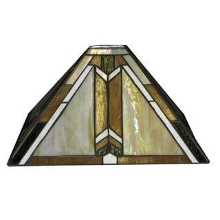 Tiffany-style Designer Stained Glass Lamp Shade