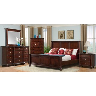 Hawthorne 5-piece Dark Brown Bedroom Set