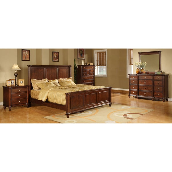 Hawthorne 5 Piece Dark Brown Bedroom Set Overstock Shopping Big Discounts On Bedroom Sets