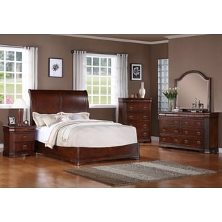 Kensworth 5-piece Cherry Finish Bedroom Set