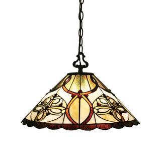 Z-Lite Tiffany-style 1-light Pendant