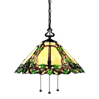 Z-Lite 3-light Tiffany-style Indoor Pendant