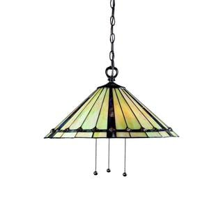 Z-Lite 3-light Tapered-shade Pendant