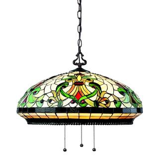 Z-Lite 3-light Antique-style Pendant