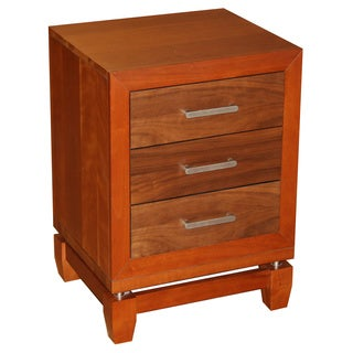 """Eifel"" Night Stand with 3 drawers"