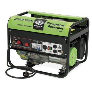 3500-watt EPA Approved Propane Generator