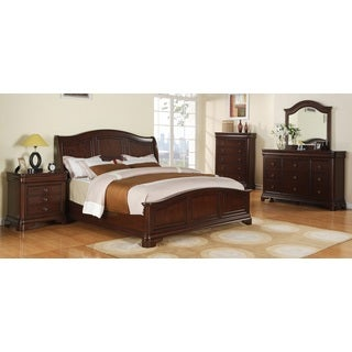 Caspian 5-piece Bedroom Set with Low Footboard