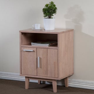 Easton 1-drawer 1-door Beech Nightstand