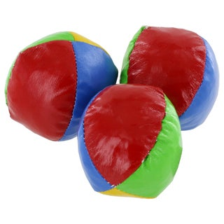 Assorted Mini Multi-Color Juggling Balls (Set of 3)