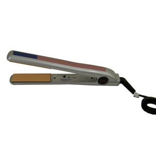 CHI USA Flag Stars & Stripes 1-inch Ceramic Flat Iron (Refurbished)