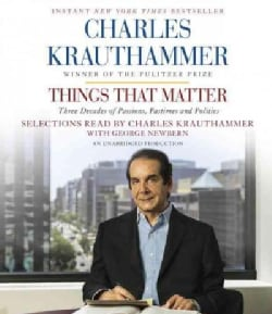 Things That Matter: Three Decades of Passions, Pastimes and Politics (CD-Audio)