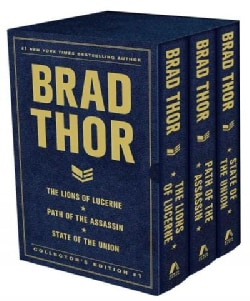 Brad Thor Collector's Edition #1: The Lions of Lucerne / Path of the Assassin / State of the Union (Hardcover)