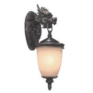 Dragon 2 light Outdoor Wall in Oil Rubbed Bronze