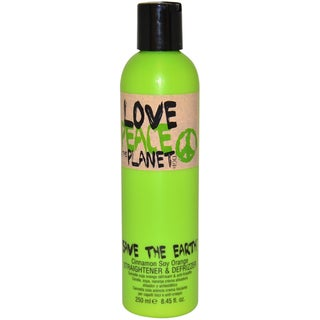 TIGI Love, Peace and the Planet Save The Earth 8.45-ounce Straightener and Defrizzer