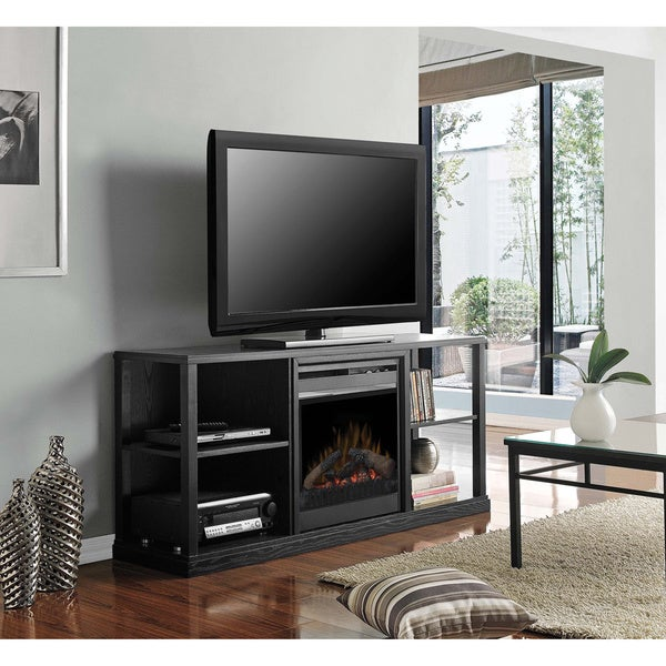 Dimplex DFP20-1342BA3A Black Finish Transitional Media Console