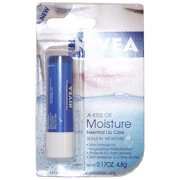 Nivea A Kiss of Moisture Essential 0.17-ounce Lip Balm