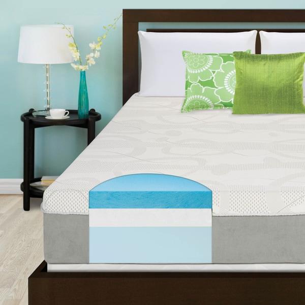 Slumber Solutions Choose Your Comfort 12-inch Twin-size Gel Memory Foam Mattress