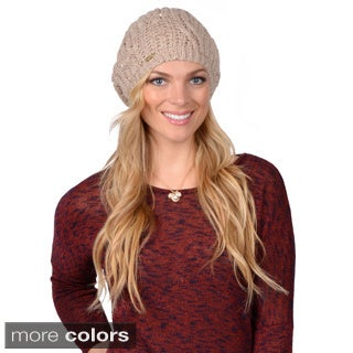 Calvin Klein Women's Cable Knit Beret