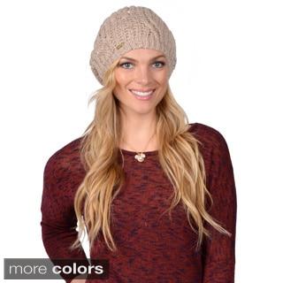 Calvin Klein Women's Cable Knit Beret
