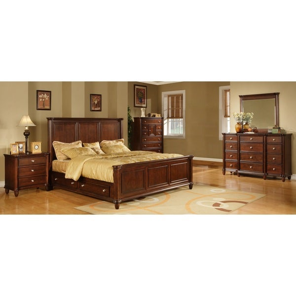 hawthorne 5 piece storage bedroom set overstock shopping