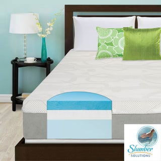 Slumber Solutions Choose Your Comfort 12-inch Queen-size Gel Memory Foam Mattress