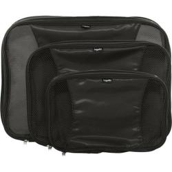 Women's baggallini CMP805 Compression Packing Cubes Set of 3 Black