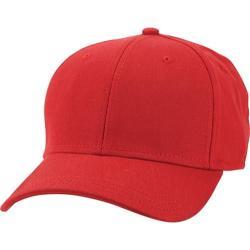 Men's Ben Sherman Cotton Twill Baseball Cap Letterboxed Red
