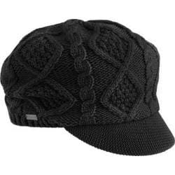 Women's Betmar Luxe Cable Cap Black