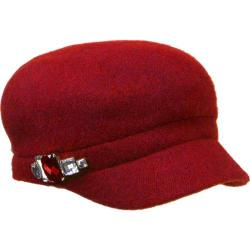 Women's Betmar Rhinestone Cap 2 True Red