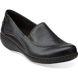 Women's Clarks Ashland Violet Black Tumbled Leather