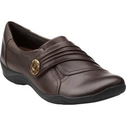 Women's Clarks Kessa Alcove Brown Leather