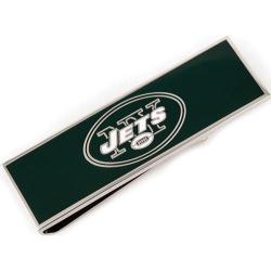 Men's Cufflinks Inc New York Jets Money Clip Green/White