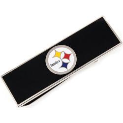 Men's Cufflinks Inc Pittsburgh Steelers Money Clip Black/Multi