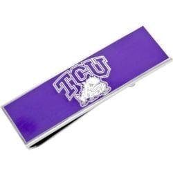 Men's Cufflinks Inc TCU Horned Frogs Money Clip Purple