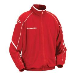 Boys' Diadora Squadra Jacket Red