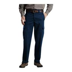 Men's Dickies Relaxed Straight Fit Cargo Work Pant 32in Inseam Dark Navy