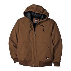Men's Dickies Sanded Duck Hooded Jacket Timber