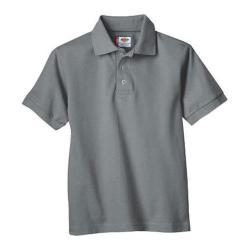 Men's Dickies Short Sleeve Pique Polo Ash Grey