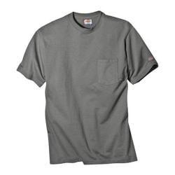Men's Dickies Short Sleeve Pocket T-Shirt w/ Wicking Tall Medium Grey