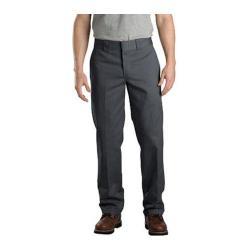 Men's Dickies Slim Straight Fit Work Pant 30in Inseam Charcoal