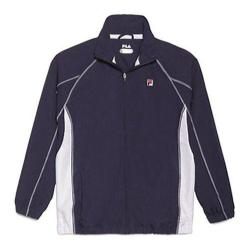 Boys' Fila Club House Jacket Peacoat/White