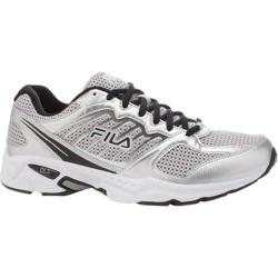 Men's Fila Early Bird Metallic Silver/Black/White